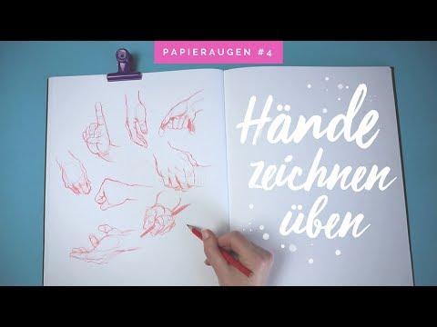 Hände zeichnen üben | Sketch with me