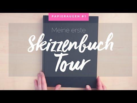 Skizzenbuch Tour / Flipthrough #1   Tägliches Üben & Ideen