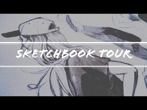 Sketchbook Tour | 2014 - 2017