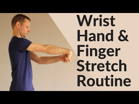 Wrist, Hand & Finger Stretching Routine - Active Isolated Stretching