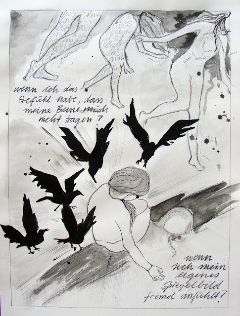 Comic Seite 2: Panikattacke