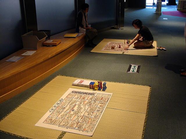 Geschichtsmuseum Osaka Brettspiel Quiz