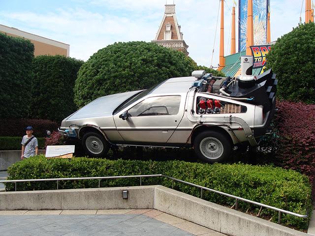 Universal Studios Japan Delorean Zurück in die Zukunft