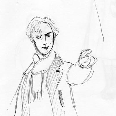 Skizze Sherlock
