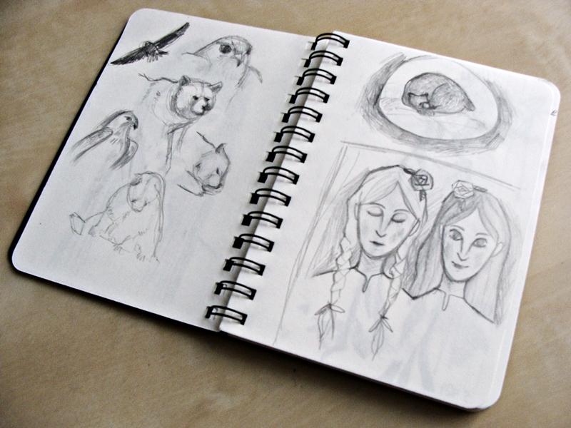 Skizzen zur Märchenillustration