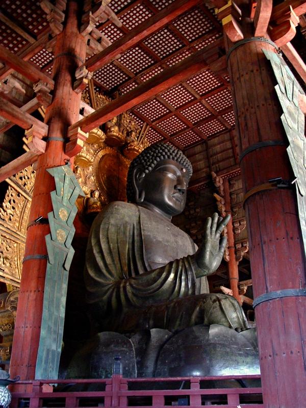 Riesige Buddha Statue Daibutsu