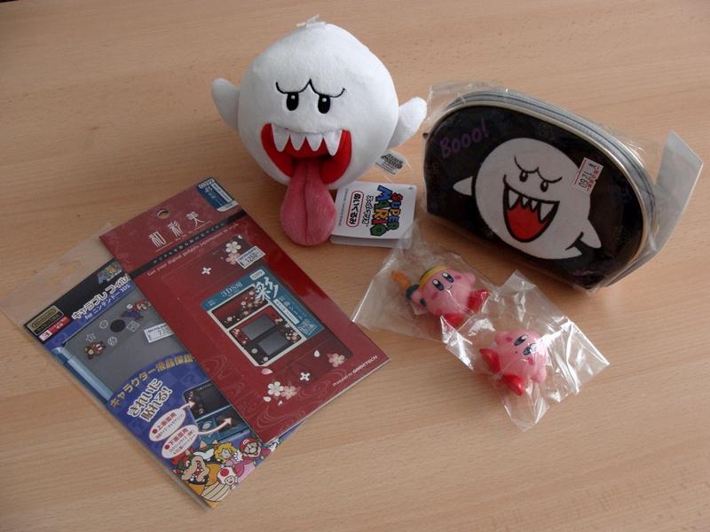 japanisches Videospiel Merchandise Nintendo Boo, Kirby, 3DS Skins