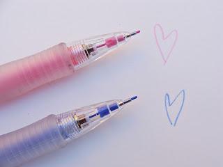 Pilot Color Eno 0.7 Druckbleistift in pink und dunkelblau