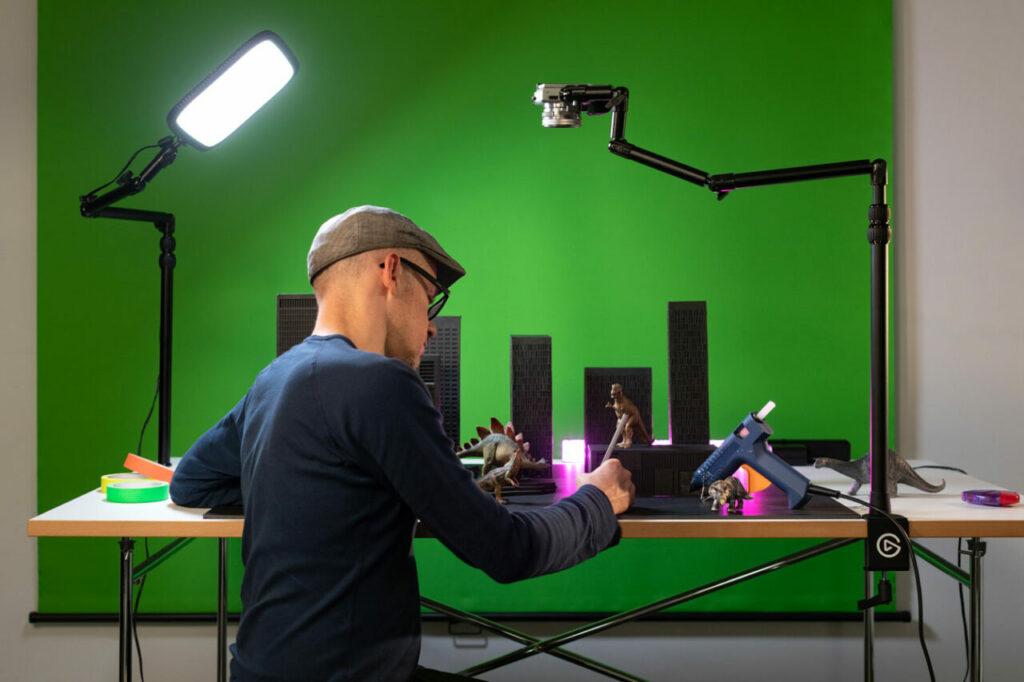 Filmen von oben: Stative für Handy, Systemkamera und Spiegelreflex
