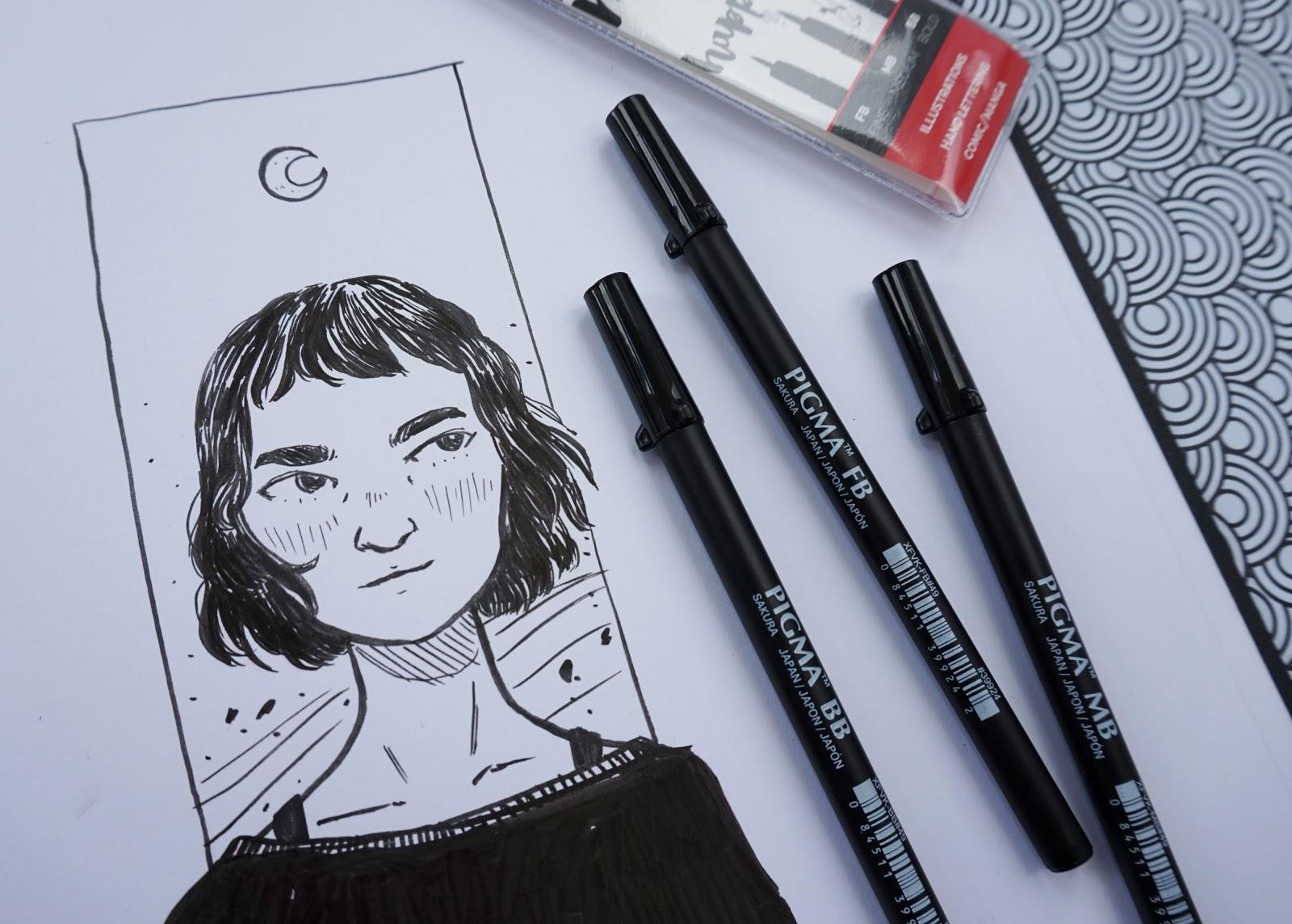 Stiftliebe: Das Sakura Pigma Brush Pen Set im Test