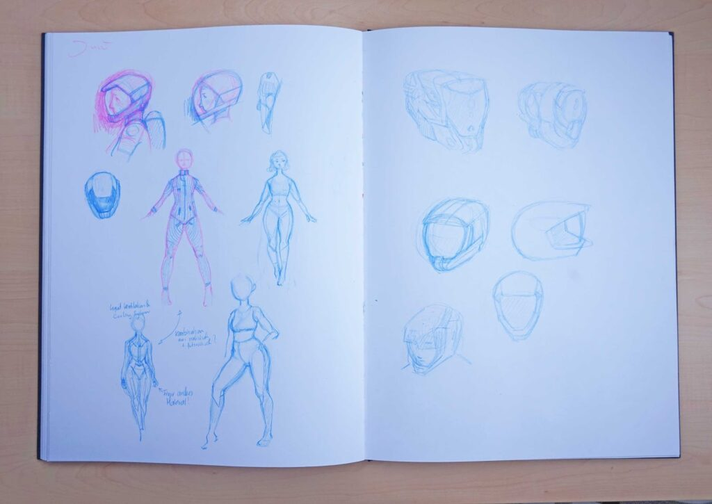 Skizzenbuchreport {Nr.5} – Skizzen aus dem kreativen Loch