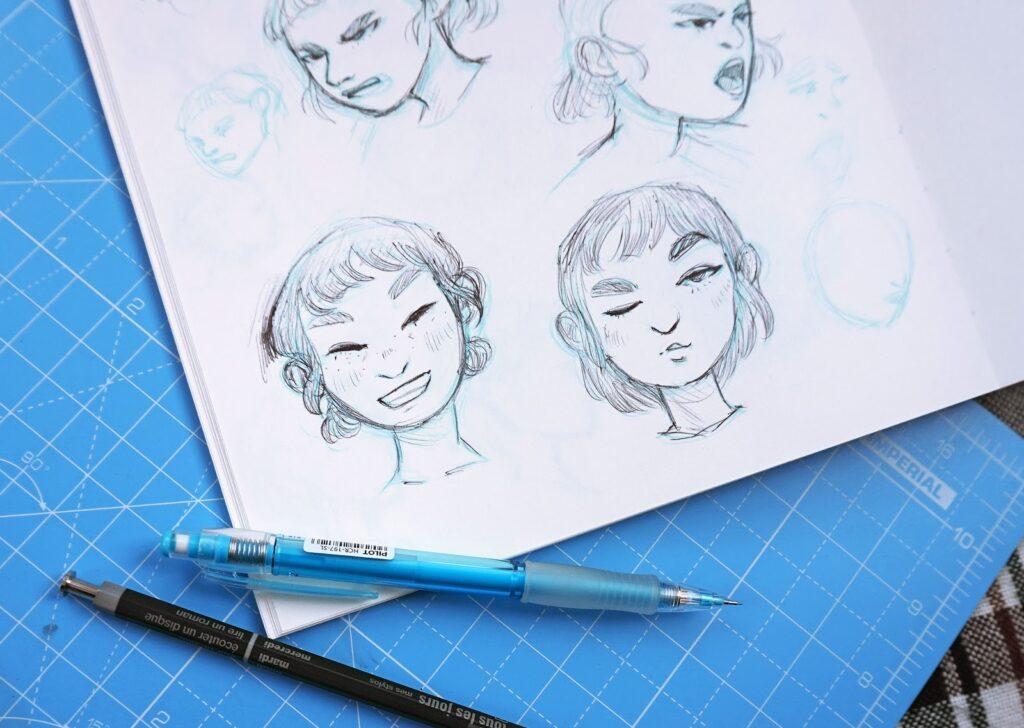Der Monat in Skizzen - Februar 2018   Comics & Charakterdesign